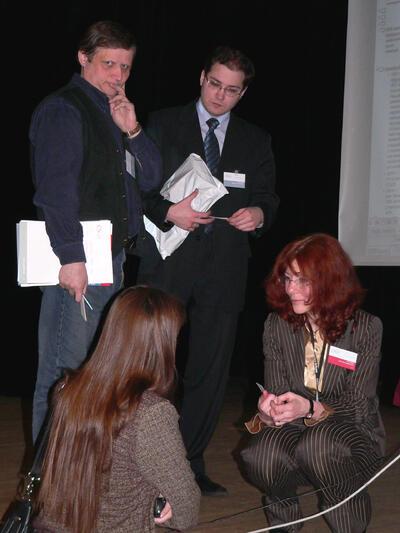 Общение с участниками семинара
