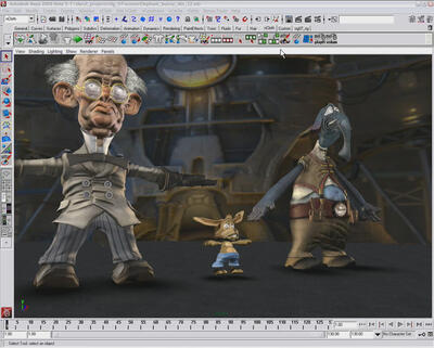 Новые версии Autodesk 3ds Max 2008 и Autodesk Maya 2008