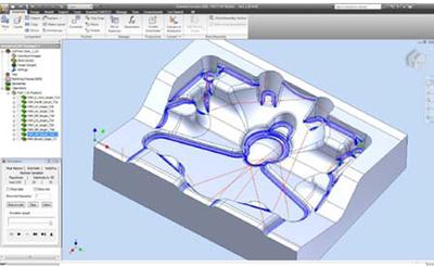 Обработка матрицы в InventorCAM
