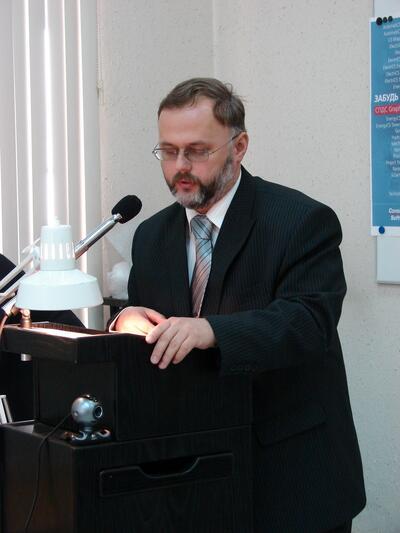 Выступает главный конструктор Иркутского авиационного завода В.Г. Кулаков