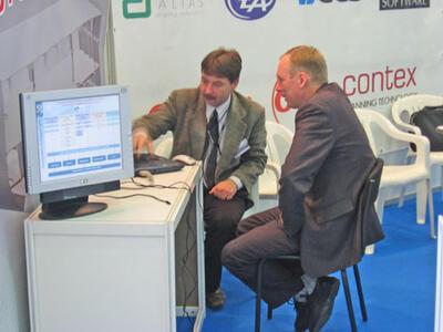 А.А. Рындин (CSoft spb) с зам. гл. инженера ПКБ РИО С.И. Исенко