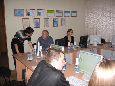 Обучение в компании РегионКАД (Тюмень)