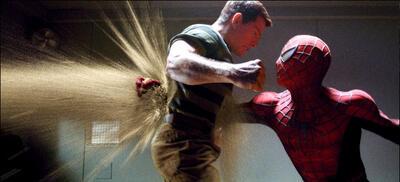Человек-паук 3 (sandman)