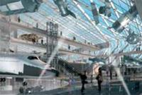 Главное фойе Национального авиационно-космического музея
