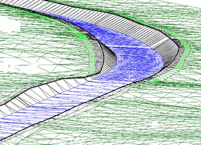 3D-визуализация русла реки