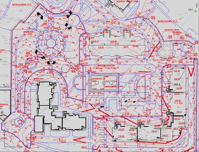 Пример проекта вертикальной планировки в AutoCAD Civil 3D