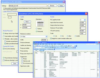 Автоматизированное создание чертежей PLC I/O
