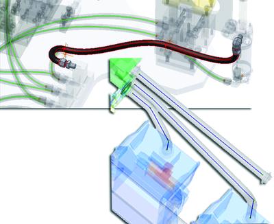 Генерация трубопроводов