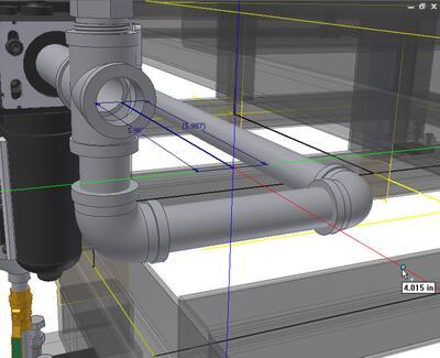 Функциональное проектирование трубопроводных и кабельных систем