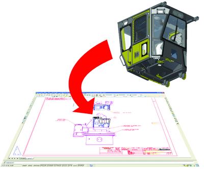 Создание блоков AutoCAD из видов чертежей Inventor