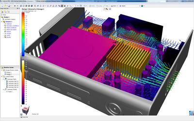 Технология расчета Accelerant в Autodesk Simulation CFD использует собственные алгоритмы оптимизации работы центрального процессора для сокращения времени, необходимого для расчета потоков жидкости или процессов теплопередачи.