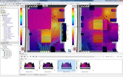 Среда изучения проекта САПР в Autodesk Simulation CFD удовлетворяет потребности инженеров-конструкторов в моделировании потоков благодаря интуитивно понятным, быстрым и простым средствам исследования проектных вариантов.