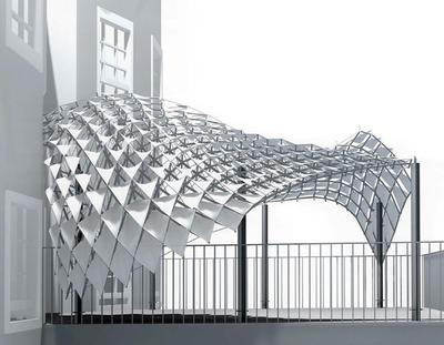 Проектирование сложных форм (модуль Generative Components)