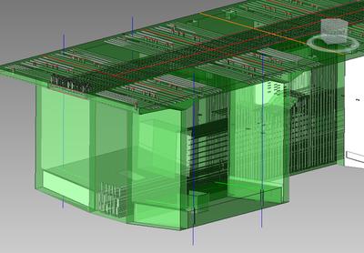 Трехмерная модель железобетонной конструкции
