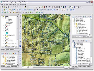 поддержка ArcGIS, AutoCAD, MicroStation и автономный интерфейс в одном продукте