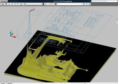 Оценка электромагнитной обстановки в 3D