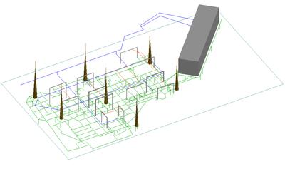 Исходные данные в 3D-виде