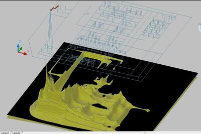 Оценка электромагнитной обстановке в 3D-виде