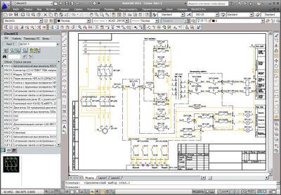 Общий вид графического редактора. Принципиальная схема