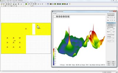 Визуализация эффекта шума от переключения интегральных схем