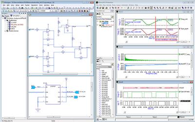 Полнофункциональное моделирование схем проекта