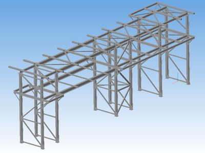 Пример металлоконструкции