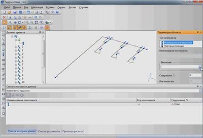 Трехмерная модель трубопровода из Model Studio CS, открытая в программе «Гидросистема»