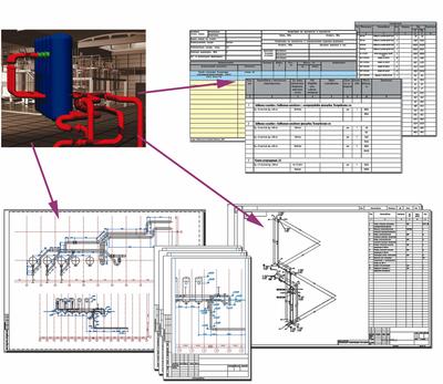Примеры рабочей документации, созданной на основе трехмерной модели
