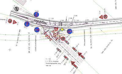 Развязка автомобильных дорог