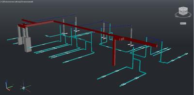 Project StudioCS СКС. 3D вид кабельных каналов