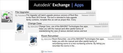 Улучшенный Autodesk Exchange