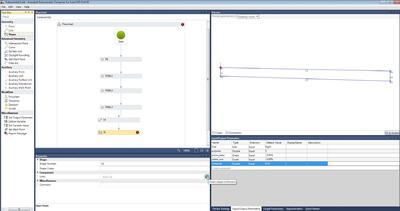 Элемент конструкции дороги «Трапециевидная полоса» в программе Autodesk Subassembly Composer