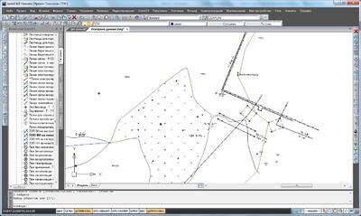 Отрисовка топографических условных знаков