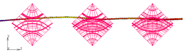 Напряженно-деформированное состояние заготовки в процессе виртуального формообразования