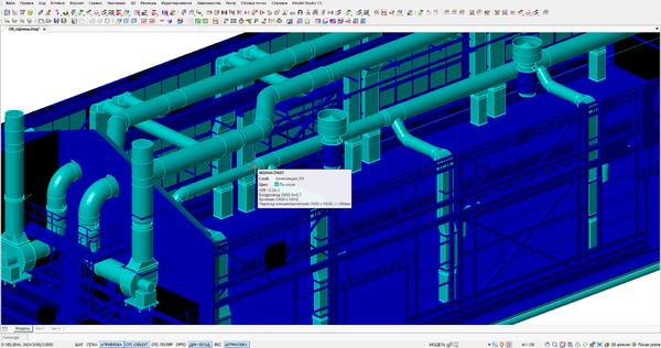 Построение системы вентиляции здания с учетом строительной части