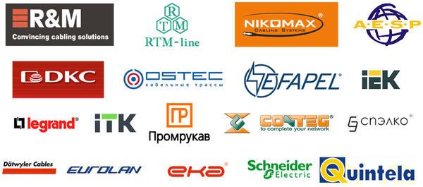 Рис. 3. Project StudioCS СКС. Базы производителей оборудования