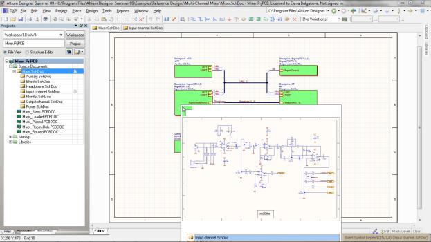 Предусмотрен импорт готовых библиотек из P-CAD 200Х и других...  Altium Designer позволяет легко преобразовывать...