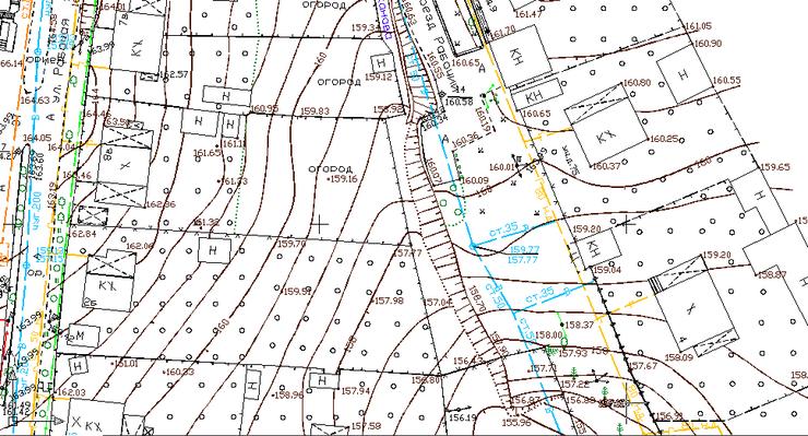 Как сделать топографическая карта