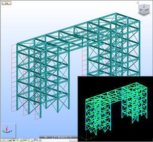Взаимодействие с программами для расчетов строительных конструкций