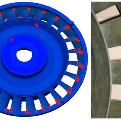 СКМ ЛП «ПолигонСофт»/«Гук-3D». Трещины в отливке (ФГУП «НПЦ газотурбостроения «Салют»)