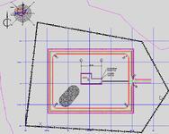 Создание разбивочного плана площадки