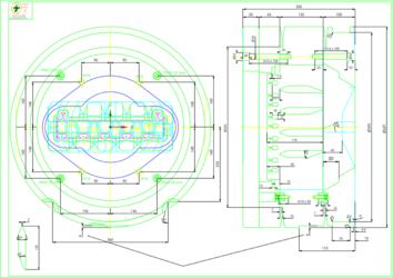 2D чертеж - создание новых чертежей матричной оснастки или импорт существующих