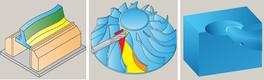 InventorCAM. Фрезерная 5D-обработка. Стратегии обработки: «Фрезерование боковой стороной», «Крыльчатка», «Полостной канал»