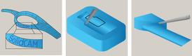 InventorCAM. Фрезерная 5D-обработка. Стратегии обработки: «Гравирование», «Полость с поднутрением», «Лопатка турбины»