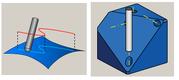 SolidCAM. Фрезерная 5D-обработка. Стратегии обработки: «Проекционная», «Многоосевое сверление»